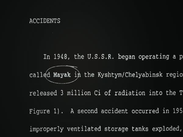 Utajovaná jaderná katastrofa SSSR