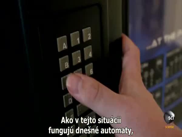 Jak funguje automat na občerstvení