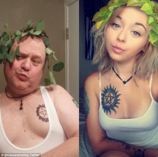 GALERIE - Rodiče parodují selfie