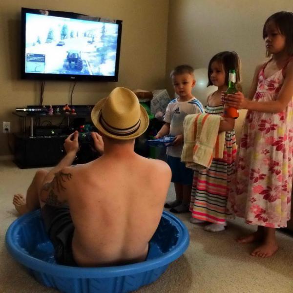 GALERIE - Proč nenechat děti s otcem