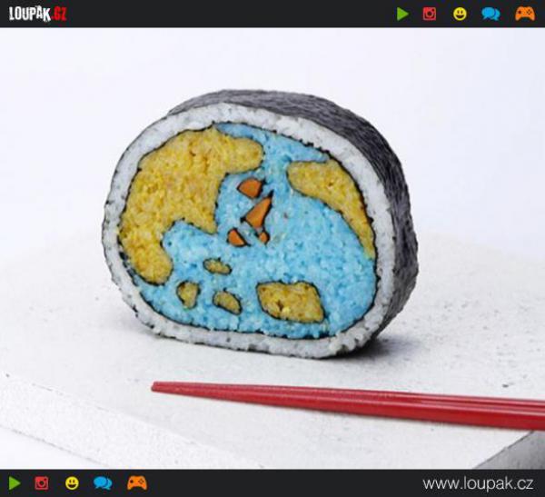 GALERIE - Úžasné sushi umění
