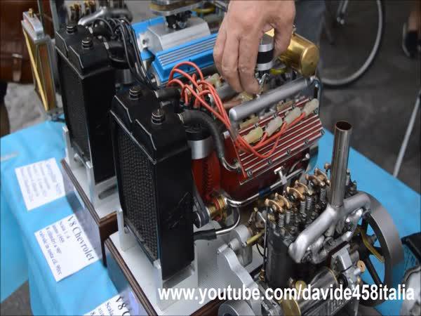 Luxusní zvuky miniautrních motorů