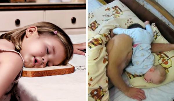 GALERIE - Děti usnou kdekoliv