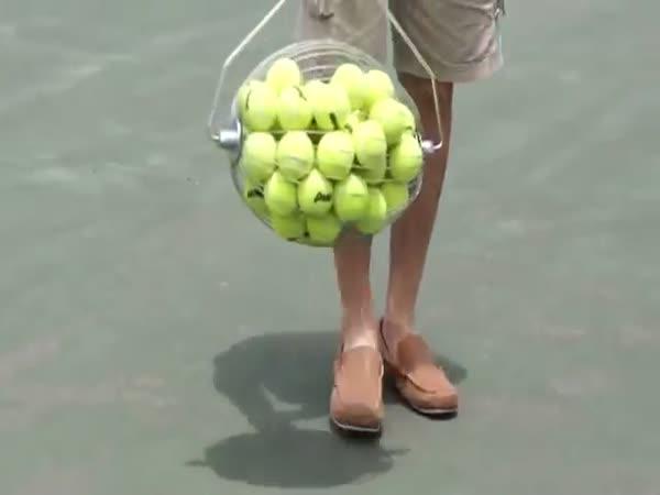 Vynález - Sběrač tenisových míčků
