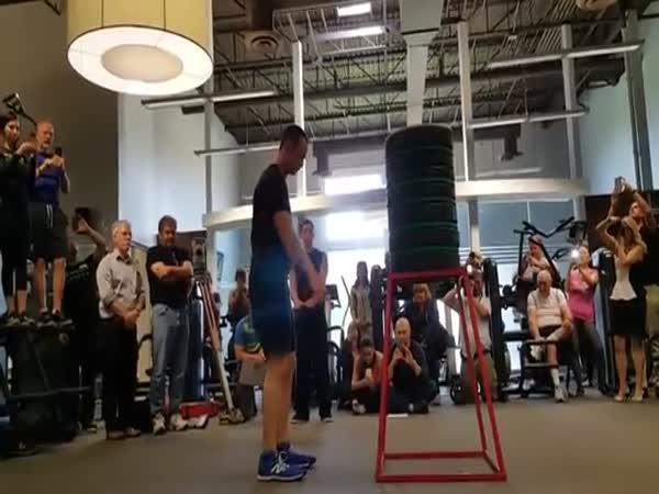 Světový rekord - Skok z místa do výšky