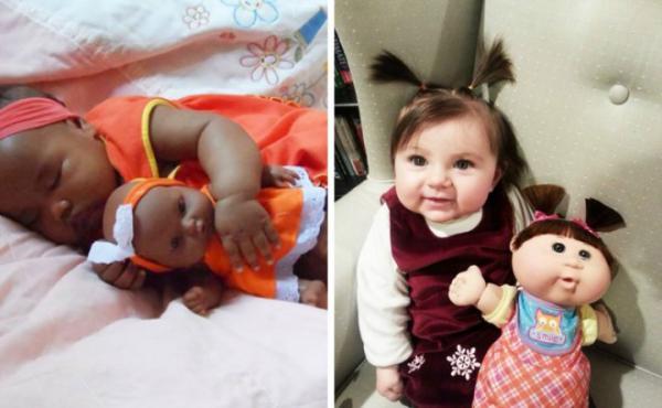 GALERIE - Děti jako panenky