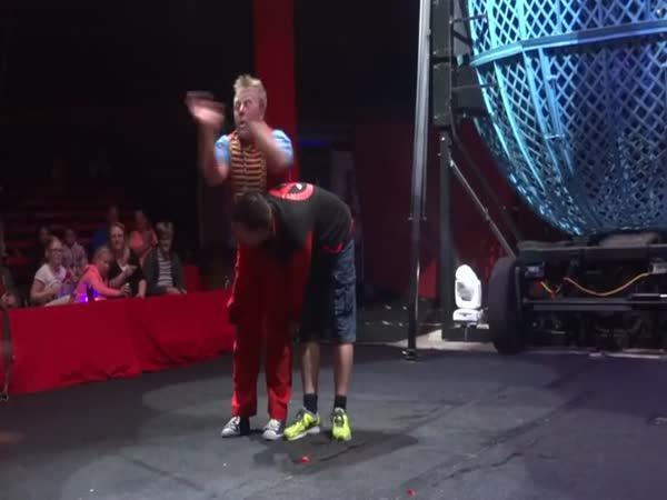 Dobrovolník v cirkuse
