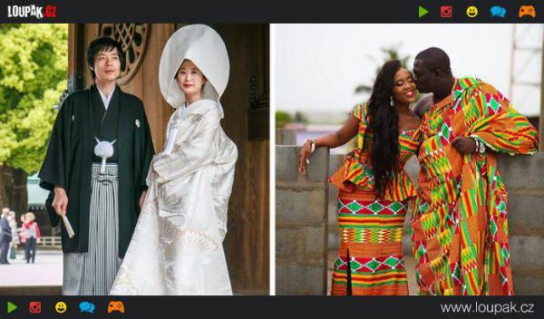 GALERIE - Svatební šaty ze světa