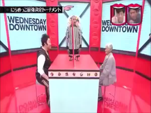 Japonsko - Rozesmívací soutěž