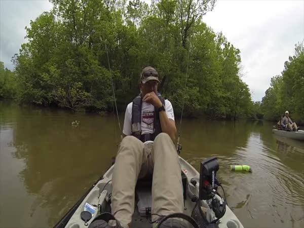 S tátou na rybách - nečekaný úlovek