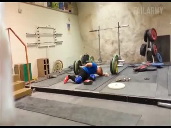 Bolestivé sportovní faily