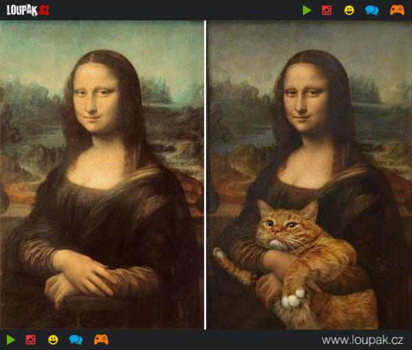 GALERIE - Ústřední postava je kočka