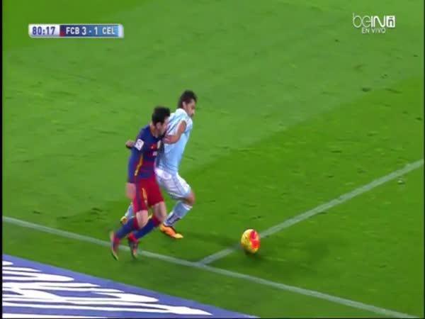 Messi daroval hattrick spoluhráčovi