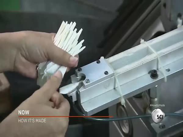 Výroba badmintonového košíku