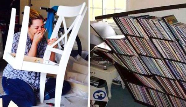 GALERIE - Pozor na nábytek z IKEA