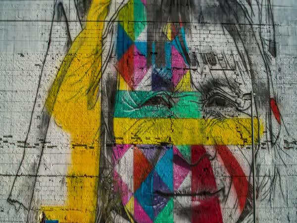 Streetart v Riu