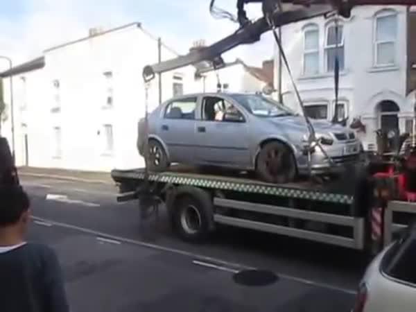 Odtahovka vs. šílený řidič 0:1