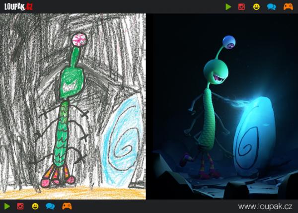 GALERIE - Krásné ilustrace z dětských čmáranic