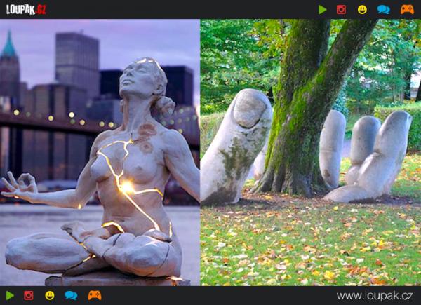 GALERIE - Nejúžasnější sochy na světě