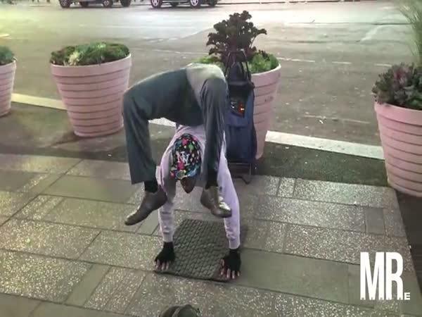 Pouliční borec - Gumové tělo