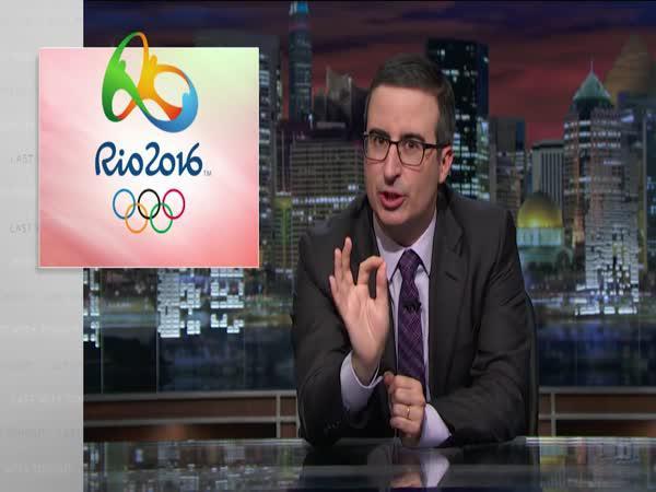 John Olivier - Zahájení Olympiády