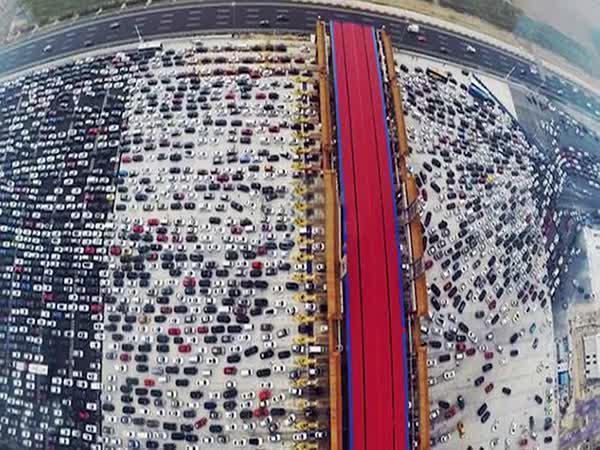 Provoz na silnicích v Číně