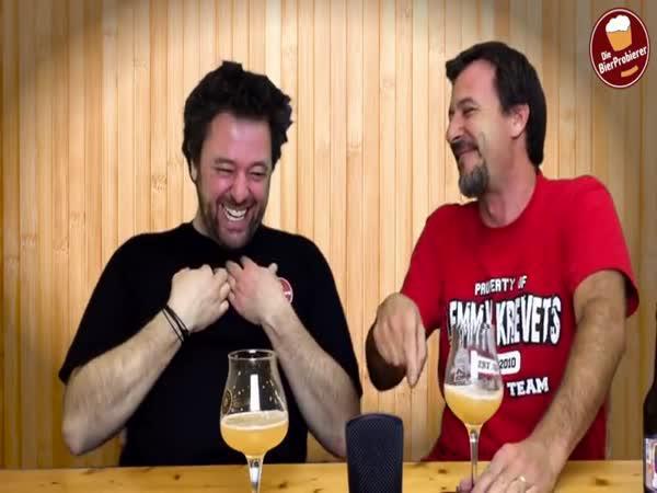Pivo nasycené heliem