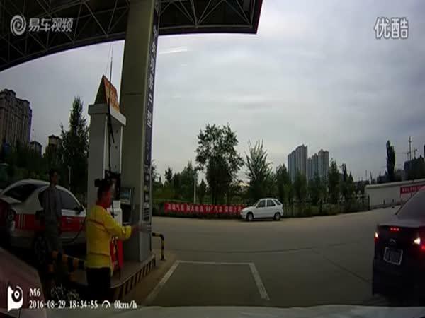 Čerpací stanice - profesionál za volantem