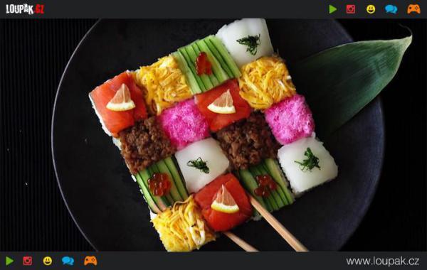 GALERIE - Sushi mozaika