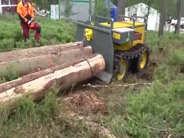 Rauptrac RT55 - Pomocník dřevorubce