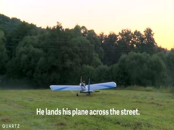 Čech létá do práce vlastním letadlem