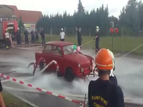 Když hasičům skončí šichta