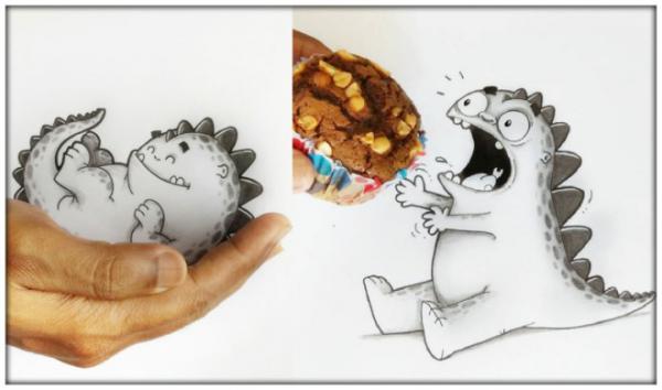 GALERIE - Vtipné ilustrace dráčka