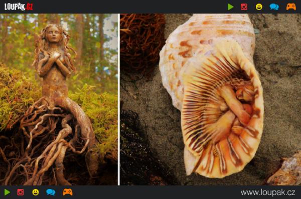 GALERIE - Ohromující sochy ze dřeva