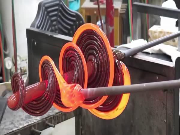 Foukané sklo - Úžasné řemeslo