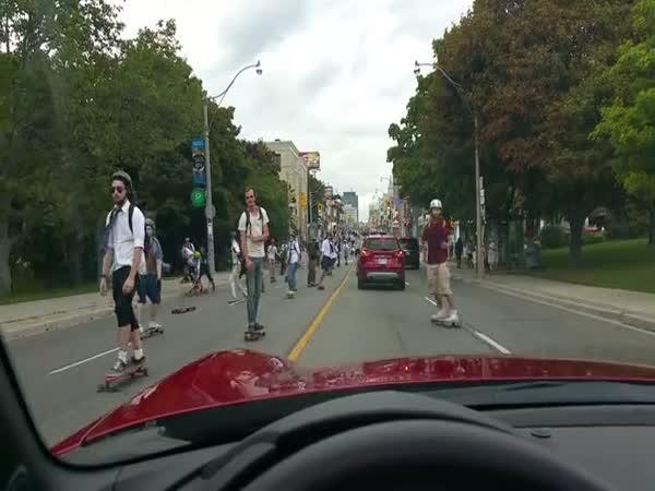 Sraz skejťáků - Toronto 2016
