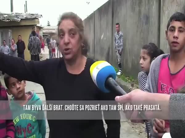 Těžký život Romů na Slovensku