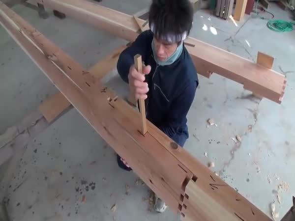 Japonské truhlářství - Spojování dřeva