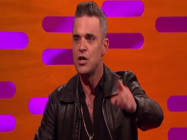 Robbie Williams a ráno na zámku