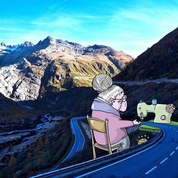 GALERIE - Úžasně vtipné ilustrace