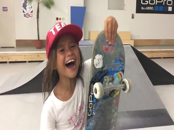 Malá holka: Zázraky na skateboardu