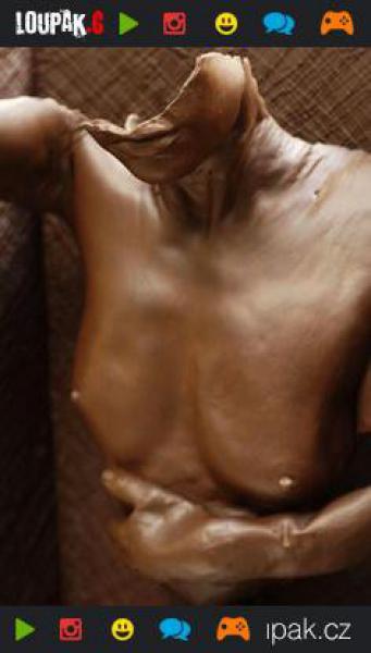 GALERIE - Dechberoucí čokoládové sochy