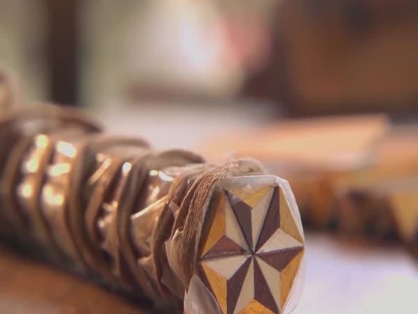 Nádherná dýha japonského truhláře