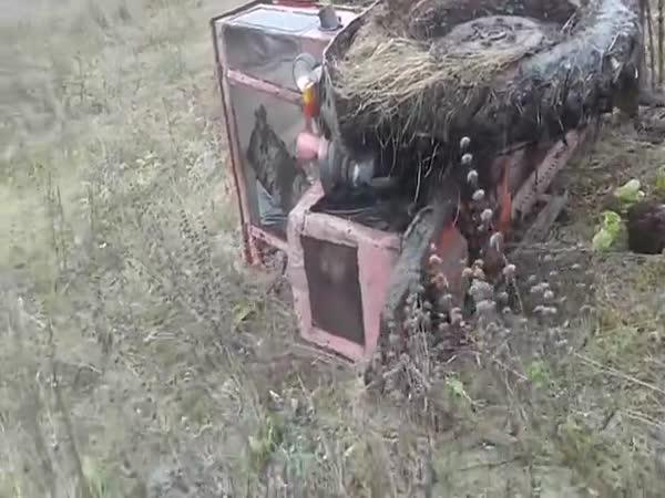 Můj starý traktor to vyjede!