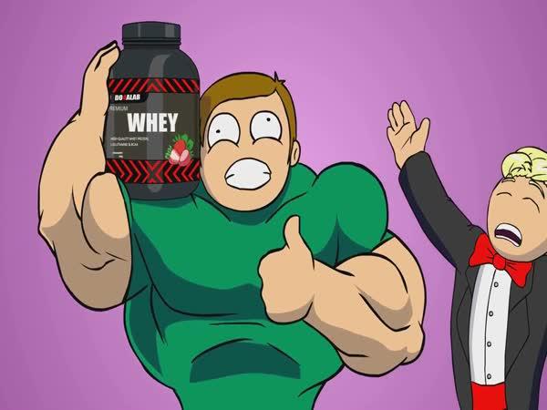 Nejlepší reklama na protein