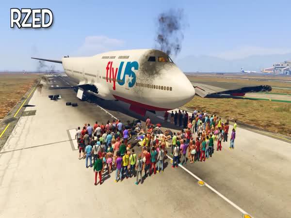 GTA: Člověk vs. letadlo
