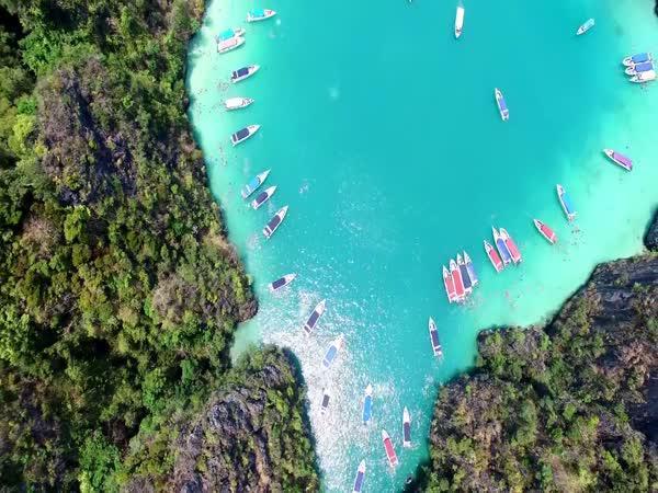Úžasné pláže v Thajsku