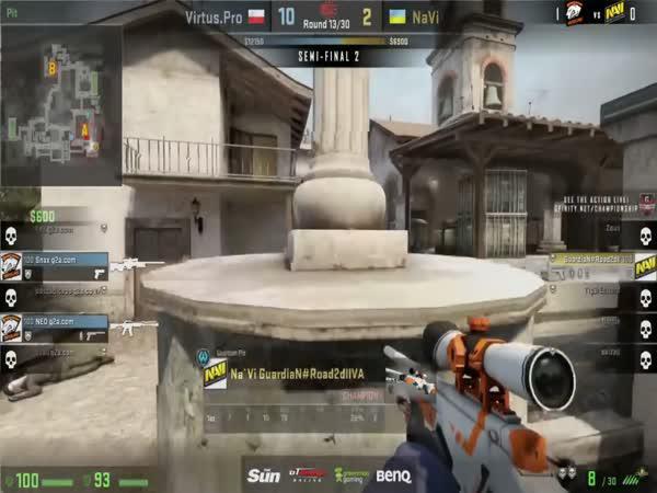 Nej Counter Strike sniper je Slovák
