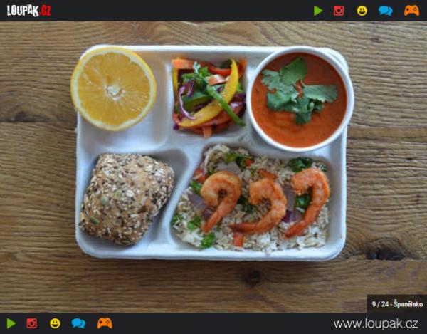 GALERIE - Obědy z 20 různých zemí 1