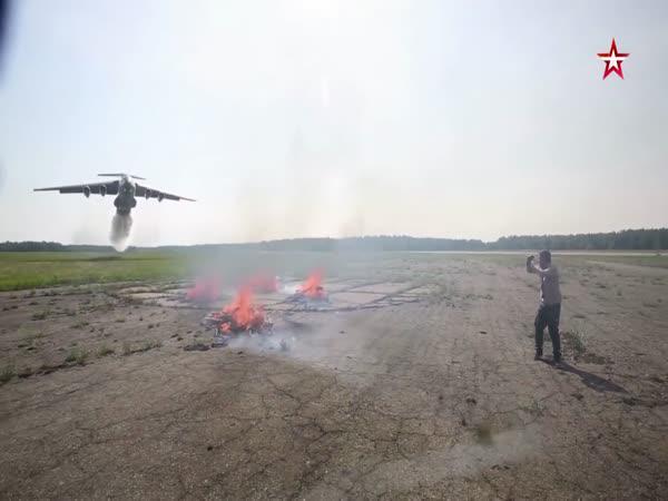 Efektivní hašení ohně letadlem